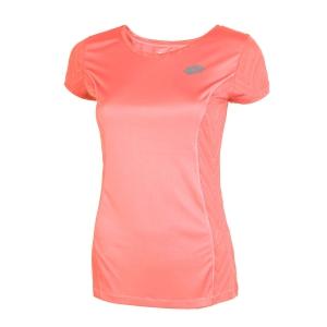Camisetas y Polos de Tenis Mujer Lotto Nixia IV TShirt  Pink T5080