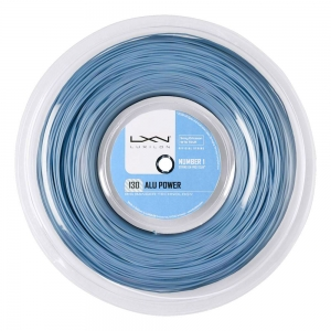Cordaje Polyester Luxilon BB Alu Power 1.30 Bobina 200 m  Ice Blue WRZ990230