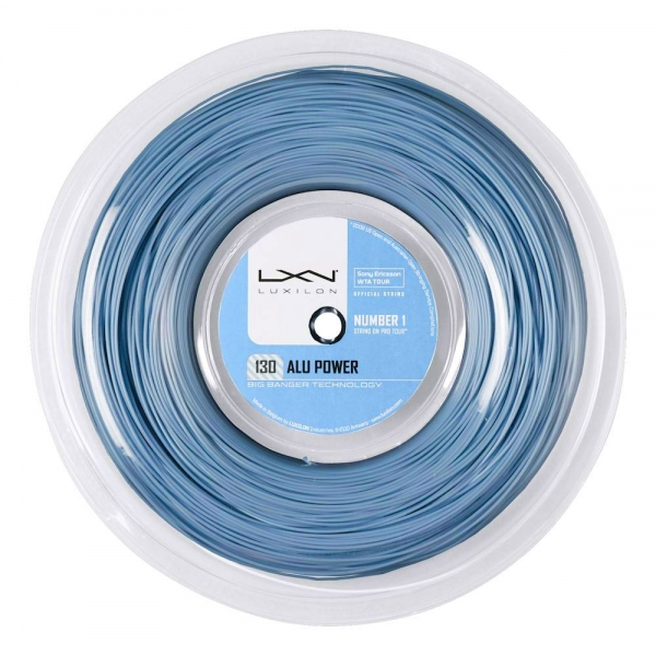 Luxilon BB Alu Power 1.30 200 m Reel - Ice Blue WRZ990230