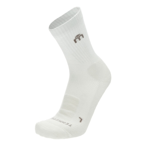 Tennis Socks Mico Medium Professional Socks  White CA 1264 001