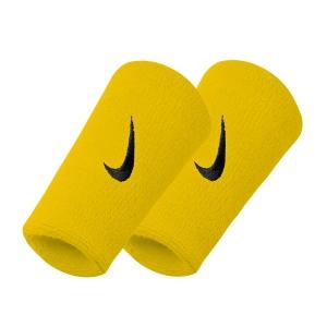 Tennis Head and Wristbands Nike DoubleWide Swoosh Wristband  Yellow/Black N.NN.05.721.OS
