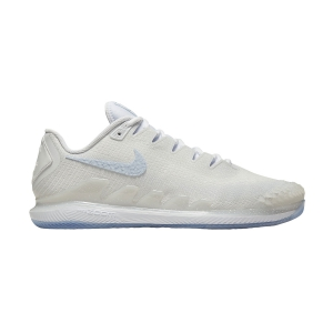 Men`s Tennis Shoes Nike Air Zoom Vapor X Knit DS  White/Blue Tint/Pure Platinum CT4582100