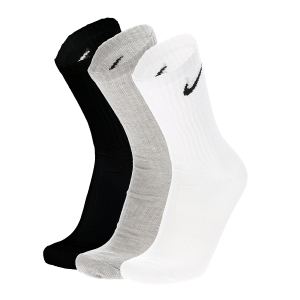 Tennis Socks Nike Everyday Lightweight Crew x 3 Socks  Multi Color SX7676901