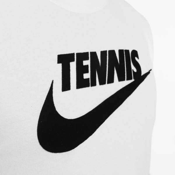 Nike Court Dri-FIT T-Shirt - White/Black
