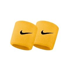 Nike DoubleWide Swoosh Wristband - White/Black