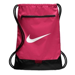 Nike Tennis Bag Nike Brasilia Sackpack  Rush Pink/White BA5953666
