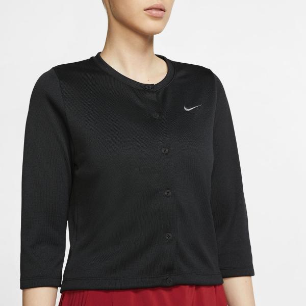 Nike Court Cardigan - Black/White