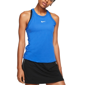 Women`s Tennis Tanks Nike Court DriFIT Tank  Game Royal/White AT8983480