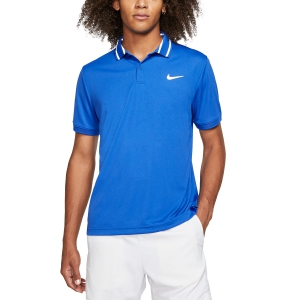 Men's Tennis Polo Nike Court DriFIT Polo  Game Royal/White BV1194480