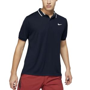 Men's Tennis Polo Nike Court DriFIT Polo  Obsidian/White BV1194451
