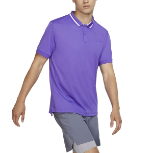 Polo Tennis Uomo Nike Court DriFIT Polo  Psychic Purple/White BV1194550