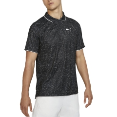 Nike Nike Court DriFIT Graphic Polo  Black/White  Black/White AT4148010
