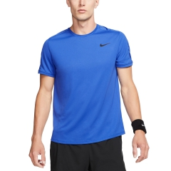 Nike Nike Court Dry Camiseta  Game Royal/Black  Game Royal/Black AT4305480