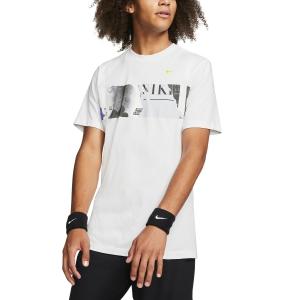 Men's Tennis Shirts Nike Court New York TShirt  White BV7016100