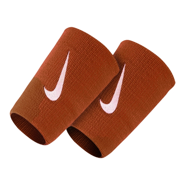 Nike Premier Double-Wide Wristbands - Red/White N.NN.51.694.OS