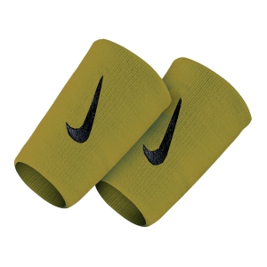 Tennis Head and Wristbands Nike Court Premier DoubleWide Wristbands  Green/Black N.NN.51.312.OS
