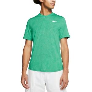 Men's Tennis Shirts Nike DriFIT Challenger TShirt  Neptune Green/White BV0766370