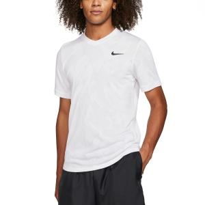 Men's Tennis Shirts Nike DriFIT Challenger TShirt  White/Black BV0766100
