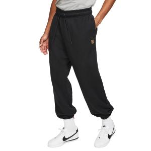 Men's Tennis Pants and Tigths Nike Fleece Heritage Pants  Black CK2178010