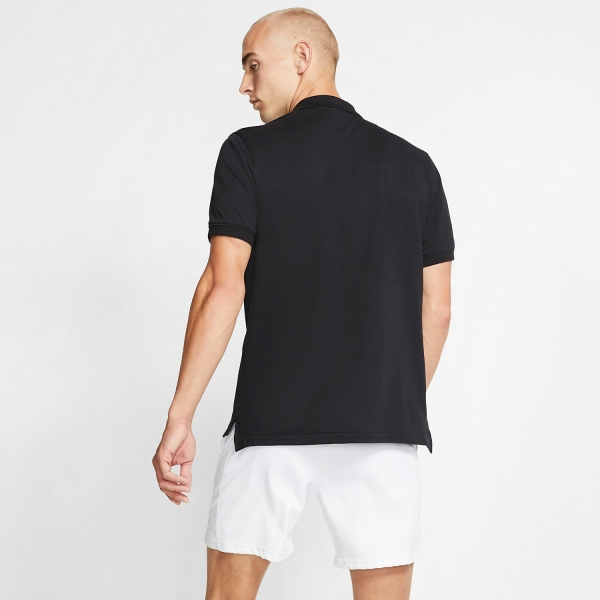 Nike Heritage Natural Polo - Black