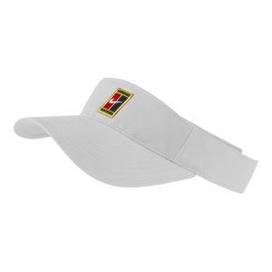 Tennis Hats and Visors Nike Heritage Logo Visor  White AQ8297100