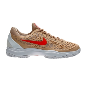 Men`s Tennis Shoes Nike Zoom Cage 3 HC  Light Brown 918193201