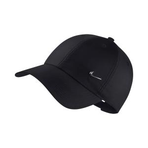 Tennis Hats and Visors Nike Metal Sportswear Heritage 86 Cap  Black 943092010