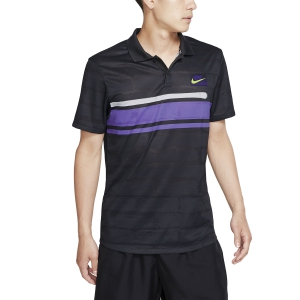 Polo Tennis Uomo Nike Court Advantage New York Polo  Off Noir AT4158045