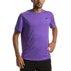Nike Nike Court Dry Camiseta  Psychic Purple/Black  Psychic Purple/Black AT4305550
