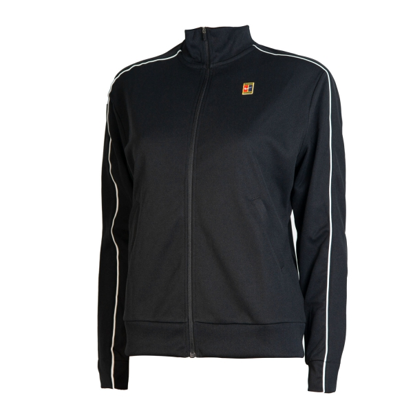 6007056730c7 Nike Court Women s Tennis Jacket - Black White