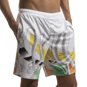 Pantalones Cortos Tenis Hombre Australian for Octopus Ace Heritage 7in Shorts  White 75091OCT2