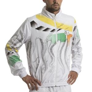 Men's Tennis Jackets Australian for Octopus Smash Heritage Jacket  White 78631OCT2