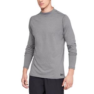 Maglie e Felpe Tennis Uomo Under Armour ColdGear Armour Maglia  Gray 13208050019