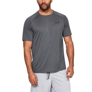 Men's Tennis Shirts Under Armour Tech 2.0 TShirt  Gray 13264130090