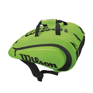 Padel Bags Wilson Padel Rak Pak Bag  Green/Black WRZ618400
