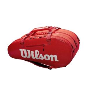 Borsa Tennis Wilson Super Tour 3 Comp x 15 Bag  Red WRZ840815