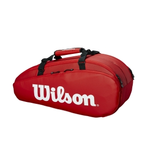 Tennis Bag Wilson Tour 2 Comp x 6 Bag  Red WRZ847909