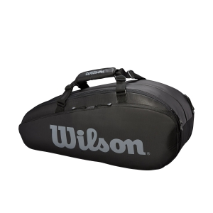 Tennis Bag Wilson Tour 2 Comp x 6 Bag  Black/Grey WRZ849306