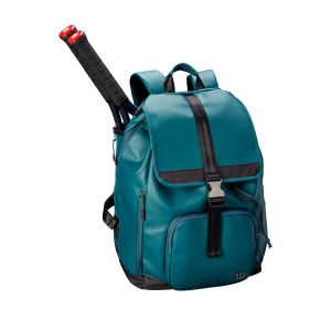 Tennis Bag Wilson Women's Fold Over Backpack  Green/Black WRZ865996
