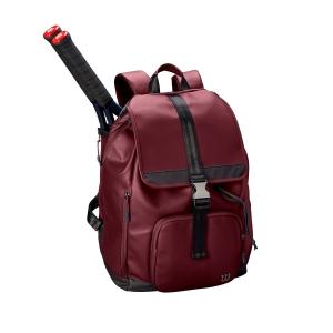Tennis Bag Wilson Women's Fold Over Backpack  Purple/Black WRZ868996