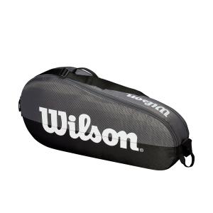 Tennis Bag Wilson Team 1 Comp x 3 Bag  Grey/Black WRZ854903