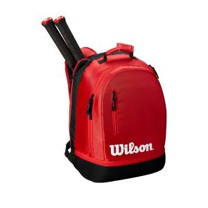 Tennis Bag Wilson Team Backpack  Red/Black WRZ857996