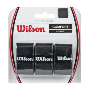 Overgrip Wilson Ultra Wrap Overgrip x 3 Overgrip  Black WRZ403000
