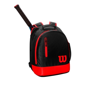 Tennis Bag Wilson Youth Backpack  Black/Coral WR8000001