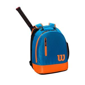 Tennis Bag Wilson Youth Backpack  Blue/Orange WR8000004