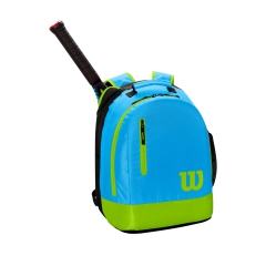 Wilson Youth Backpack - Light Blue/Green