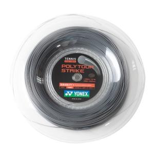 Polyester String Yonex PolyTour Strike 1.30 200 m Reel  Grey PTST1302GR