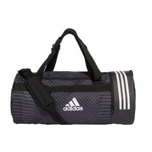 Adidas Bags Adidas 3 Stripes Convertible  Duffle Bag  Black/White DT8652