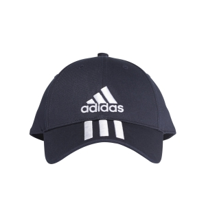 Gorras de Tenis Adidas 6 Panel Classic 3 Stripes Gorras  Legend Ink/White DU0198