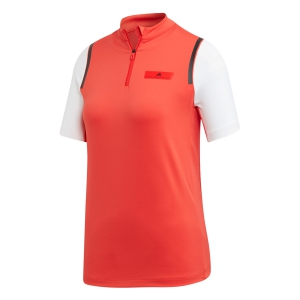 Polos y Camisetas de Tenis Adidas Stella McCartney Court Camiseta Nino  Active Red EC2565